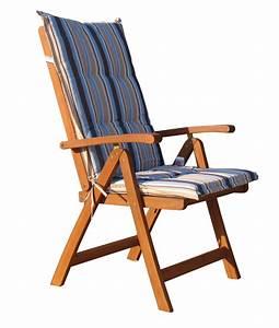 Lounge Stuhl Garten : auflage marine kissen polster klapp sessel stuhl garten sessel ~ Markanthonyermac.com Haus und Dekorationen