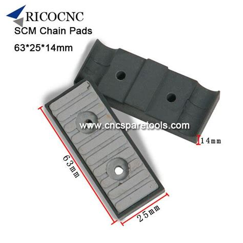 xxmm scm edgebander track pads conveyor chain pads  scm edge banding machine