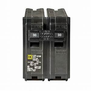 Square D Homeline 30 Amp 2-pole Circuit Breaker-hom230cp