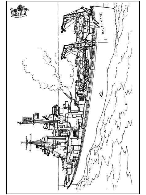 Schip Kleurplaat schip 2 kleurplaten schepen