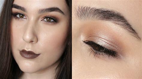 naked  palette halo eye spring makeup tutorial