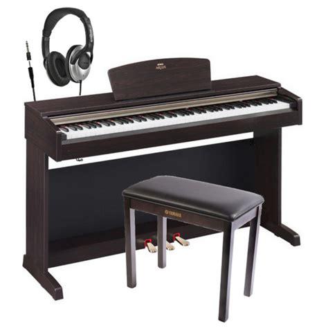 yamaha arius ydp 161 disc yamaha arius ydp 161 digital piano rw free headphones bench at gear4music