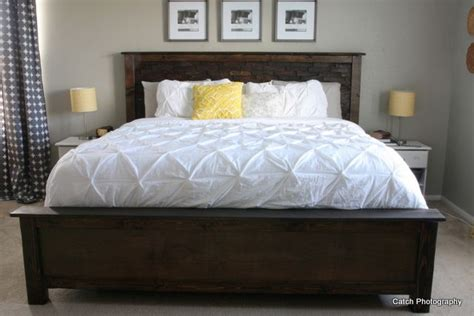 ana white build a cassidy bed king free and easy diy