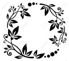 ✓ free for commercial use ✓ high quality images. Leaf foliage wreath   silhouette files i have   Pinterest ...