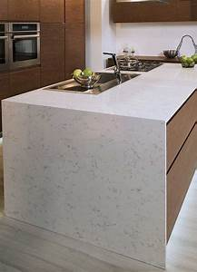 Kitchen Room Scene Fairy White Quartz Countertop