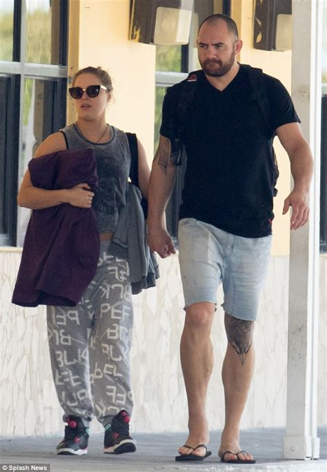 Ronda Rousey Boyfriend Suzuki by Ronda Rousey And Married Boyfriend Travis Browne Hold