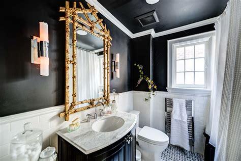 Black Bathroom Fixtures Decorating Ideas by 23 Black And Gold Bathroom Designs Decorating Ideas