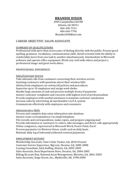resume template leasing consultant personal statement