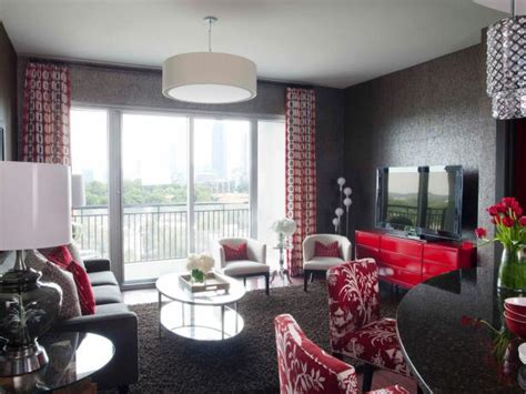 Ideas For Living Rooms On A Budget by High End Bachelor Pad Decorating On A Budget Hgtv