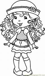 Coloring Cake Angel Pages Strawberry Shortcake Pdf Cartoon Characters Insects Coloringpages101 Kerra Resolution sketch template