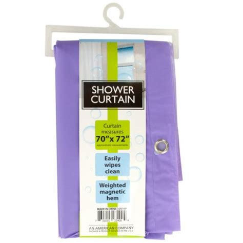 bulk buys shower curtain with weighted magnetic hem bulk