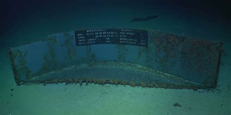 wreck  uss lexington    years ship