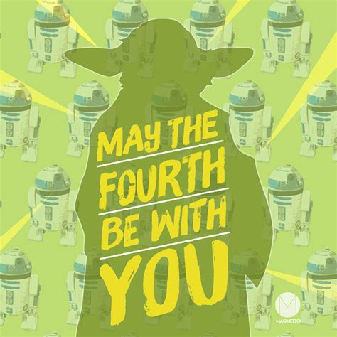 May the Fourth Be with You - Magnetic Ideas