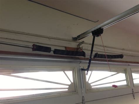 torsion garage door garage door springs is the most prone to damage