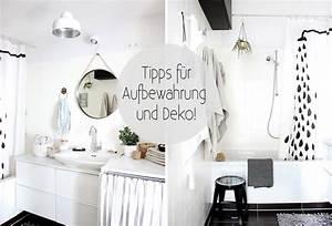 Deko Für Badezimmer : mein bad 5 tipps f r aufbewahrung und deko oh what a room ~ Watch28wear.com Haus und Dekorationen