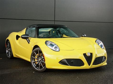 Used 2016 Alfa Romeo 4c 18 Tbi Spider Alfa Tct 2dr For