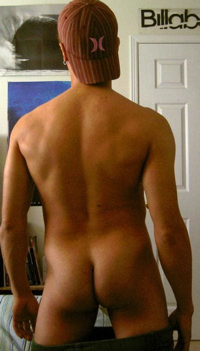 Naked Guy Show His Hot Back And Firm Ass Spacedingo