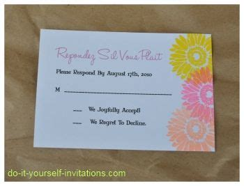 do it yourself wedding invitation cards pin by do it yourself invitations on diy wedding invitations pinter