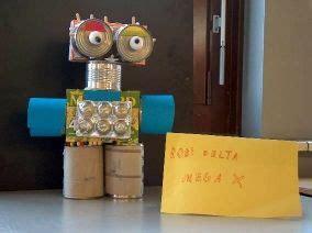 roboter basteln mit muell kinder wissenschaftsprojekte