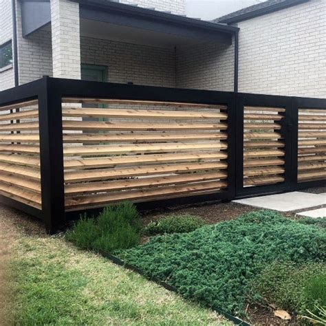 top   modern fence ideas contemporary outdoor designs