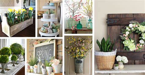 35+ Rustic Farmhouse Spring Decor Ideas And Designs For 2017