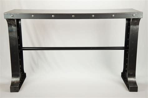 Buy A Custom Made Industrial Metal Console Table Made To