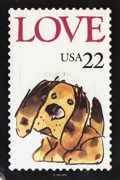 Stamp Postage Stamps Card Postcard Puppy Postal