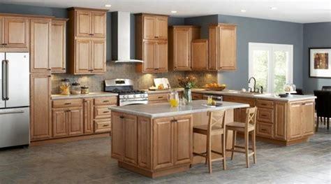kitchen designs with oak cabinets unfinished oak kitchen cabinet designs rilane