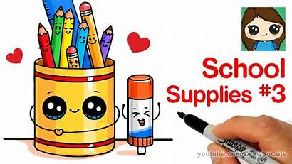 Draw Supplies Drawings Easy Drawing Doodle Cake