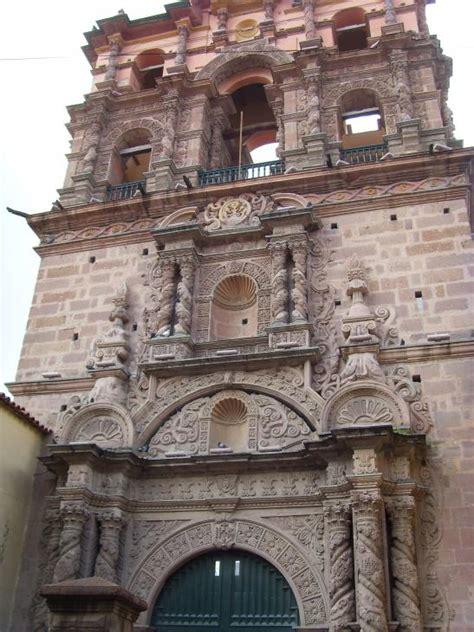 Torre de la iglesia de la Compañía de Jesús, Potosí (Bolivia)