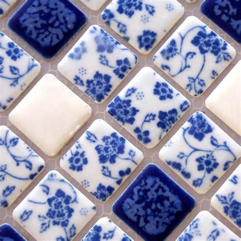 porcelain tile shower mosaic floor tiling pattern