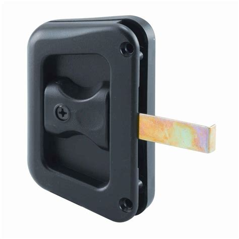 screen door handle prime line sliding screen door latch left chrome