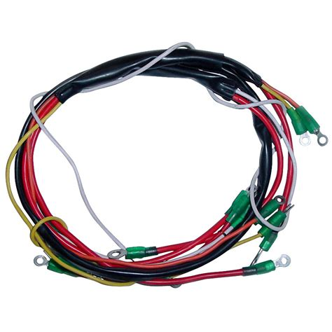 How Made I A Tractor Wiring Harnes by Alternator Wiring Harness For Ford New Tractor 600