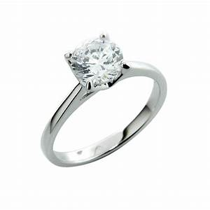 sterling silver engagement ring With silver and diamond wedding rings