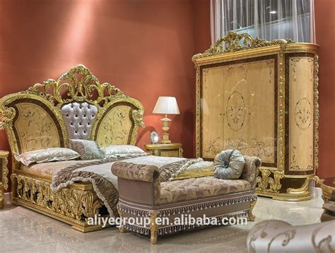 art  baroque italy style  bedroom furniture