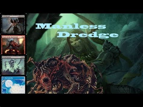mtg manaless dredge deck turn 2 win mtg legacy manaless dredge vs monored burn