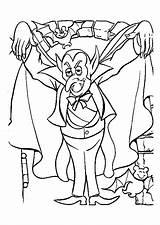Coloring Vampires Halloween Pages Vampire Printable Coloriage Sheets Un Dessin Dracula Colorier Le Dessins Des Justcolor Depuis Enregistree Hugolescargot sketch template