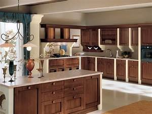 Cuisine Bois Massif : cuisine moderne en bois massif attitude bois armoire de ~ Premium-room.com Idées de Décoration