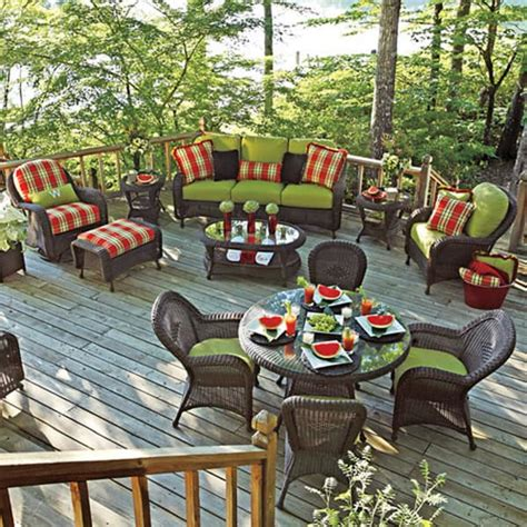 classic seating wicker patio furniture by summer classics