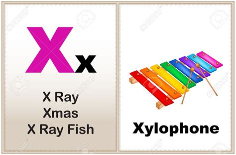 words starting with x for preschoolers things that start with x clipart 837