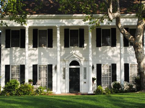 colonial architecture colonial homes colonial house plans