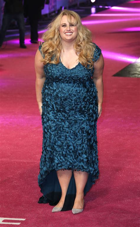 REBEL WILSON at How To Be Single Premiere in London 02/09 ...