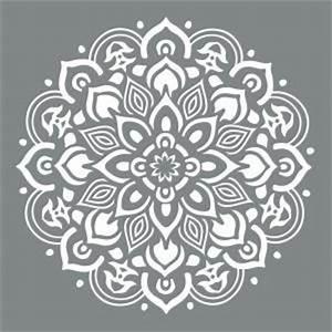 DecoArt Americana Decor 10 in x 10 in Mandala Stencil
