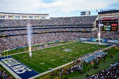 Chargers' Stadium Oldest In Nfl?