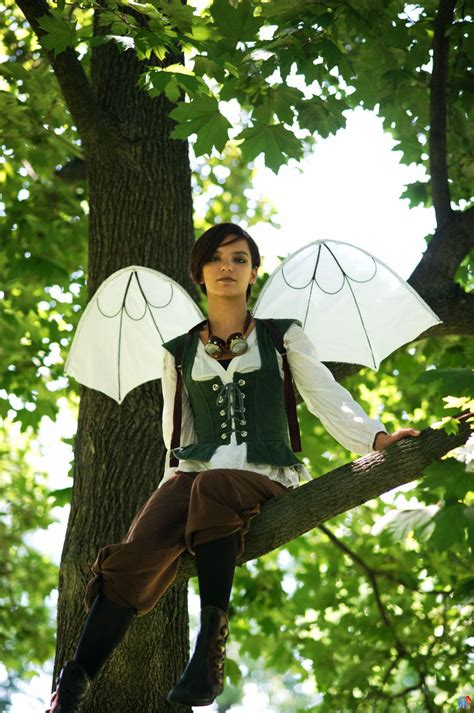 Davinci Flying Machine Wings Steampunk Fashion