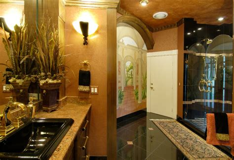 Tuscan Decorating Ideas For Bathroom by Tuscan Style Home Mediterranean Bathroom Ta By