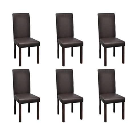 chaises de salon la boutique en ligne vidaxl chaises de salle à manger 6