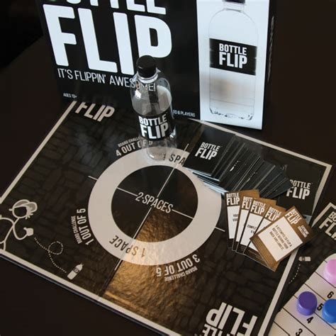 flip the table game bottle flip the board game it 39 s flippin 39 awesome