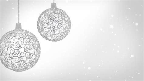 white christmas decorations  christmas stock footage