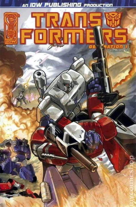generation transformers idw dreamwave comics tpb comic volume 2006 1st books release tfw2005 issue